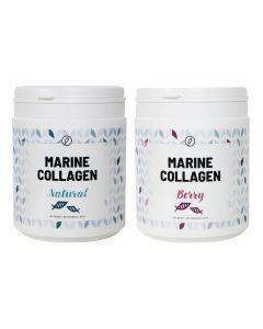 Plent - Gehydrolyseerde Vis Collageen - 2 x 225 gram - Naturel + Berry