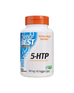 Doctor's Best - 5-HTP - Griffonia Simplicifolia Extract - 60 caps