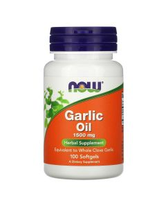 Now Foods, Garlic Oil, 1,500 mg, 100 Softgels