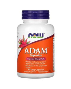 Now Foods, ADAM, Superior Men's Multi, 90 Veg Capsules
