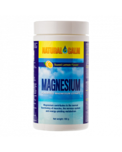 Natural Calm Sweet Lemon magnesium poeder 150 gram