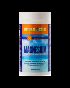 NATURAL CALM ORANGE MAGNESIUM POEDER 150 GRAM