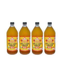 Bragg - Apple Cider Vinegar - 4 Pack (946 ml)