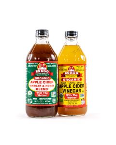 Bragg - Appelazijn (Apple Cider Vinegar) - 2 x 473ml Combinatie