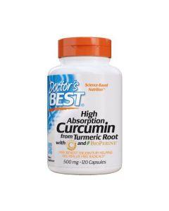 Doctor's Best - Curcumin C3 Complex - 120 Capsules (500 mg)