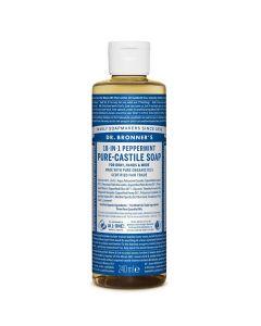 Dr. Bronner's - Peppermint Liquid Soap - 240ml