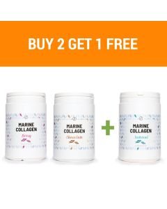 Plent - Hydrolyzed Fish Collagen Peptides - 3 x 300g - 3 flavours