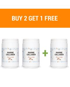 Plent - Marine Collagen Peptides - 3 x 300g (Chocolate)