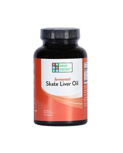 Green Pasture - Fermented Skate Liver Oil - 120 Capsules