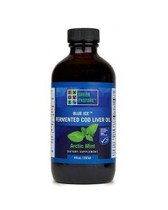 Green Pasture - Fermented Cod Liver Oil - 237ml (Arctic Mint)