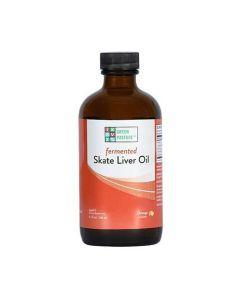 Green Pasture - Blue Ice™ Fermented Rog Liver Oil - Orange – 180ml