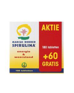 Marcus Rohrer -  Spirulina  - 180 + 60 Tablets (Deal!)