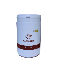 BIG FOOD - Cacao nibs  RAW - 500gr