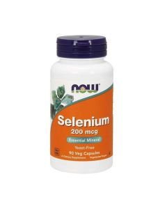 Now Foods - Selenium - 200mcg - 90 veg caps