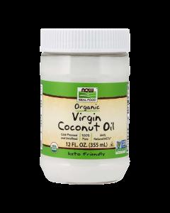 Now Foods - Coconut Oil Organic Virgin - 355ml