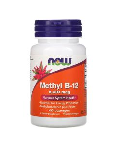 Now Foods, Extra Strength Methyl B-12, 10,000 mcg, 60 Lozenges