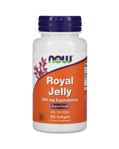 Now Foods, Royal Jelly, 300 mg, 100 Softgels
