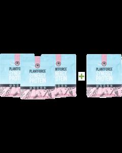 Plantforce - Synergy Proteïne Natural - 800 g - 3+1 gratis