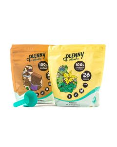 Jimmy Joy - Plennt Shake - Vanille en Chocolade (+ gratis Scoop)
