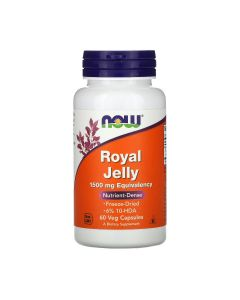 NOW - Royal Jelly - 60 veg caps (1500mg)