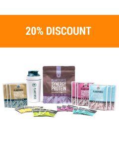 Plantforce Synergy Proteïne Chocolade en Magnesium - startpakket