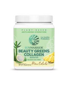 Sunwarrior - Beauty Greens Collagen Booster - Piña Colada - 300 g