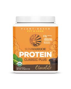 Sunwarrior - Classic Plus Protein  – 375g (Chocolate)