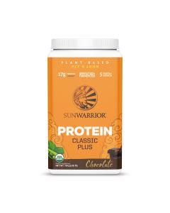Sunwarrior - Classic Plus Biologische Proteine - Chocolade - 750 g