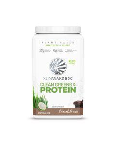 Sunwarrior - Clean Greens & Protein - Chocolate - 750 g