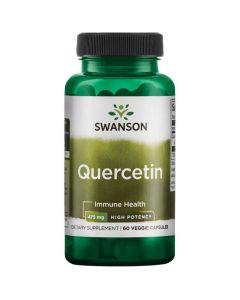 Swanson - Quercetin High Potency - 60 v-caps (475mg)