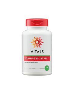 Vitals - Vitamin B5 - 100 capsules (250 mg)