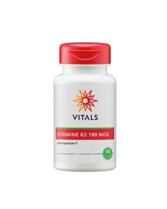 Vitals - Vitamin K2 (menaquinon-7) - 60 Capsules (180mg)