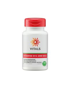 Vitals - Vitamin B12 - 100 Lozenges (2000 mcg)