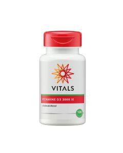 Vitals - Vitamin D3 3000 ie - 100 capsules