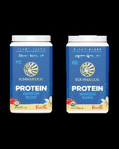 Sunwarrior - Warrior Blend Proteine - Vanille - 2 x 750 gr Voordeel