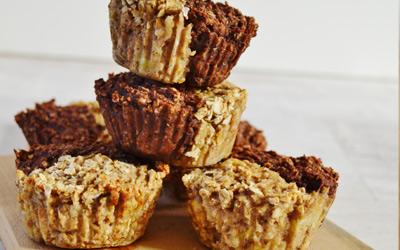 Recipe vegan duo protein cookies